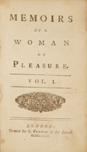 Fanny Hill title page