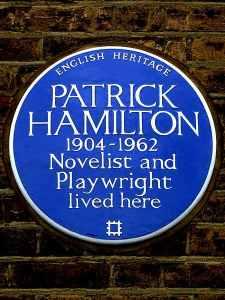 Patrick Hamilton plaque