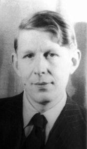 W. H. Auden young man
