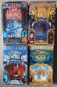 Game of Thrones original book cover designs