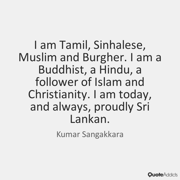 Kumar Sangakkara quote