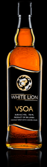 White Lion arrack which is sold in the U.S.A