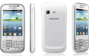 Samsung GALAXY Chat With Android 4.0 And QWERTY keyboard Announced