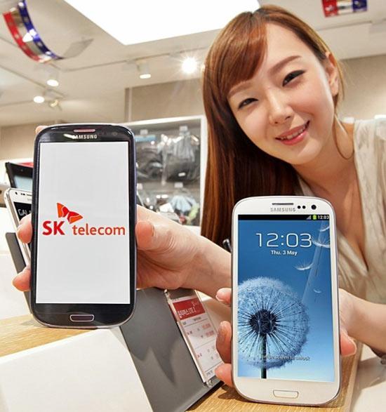 Samsung GALAXY-S III LTE quad-core CPU