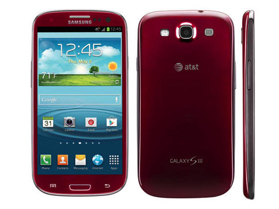 Book Your Garnet Red Samsung Galaxy S III On AT&T From July 15