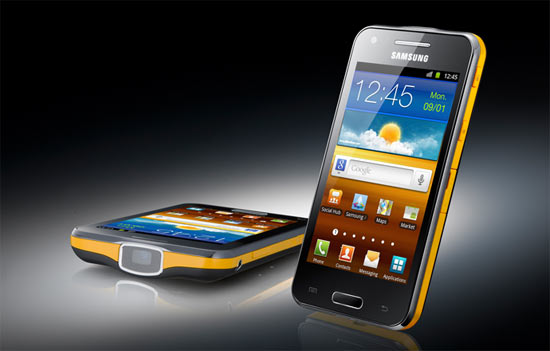 Samsung Galaxy Beam ultra slim projector smartphone