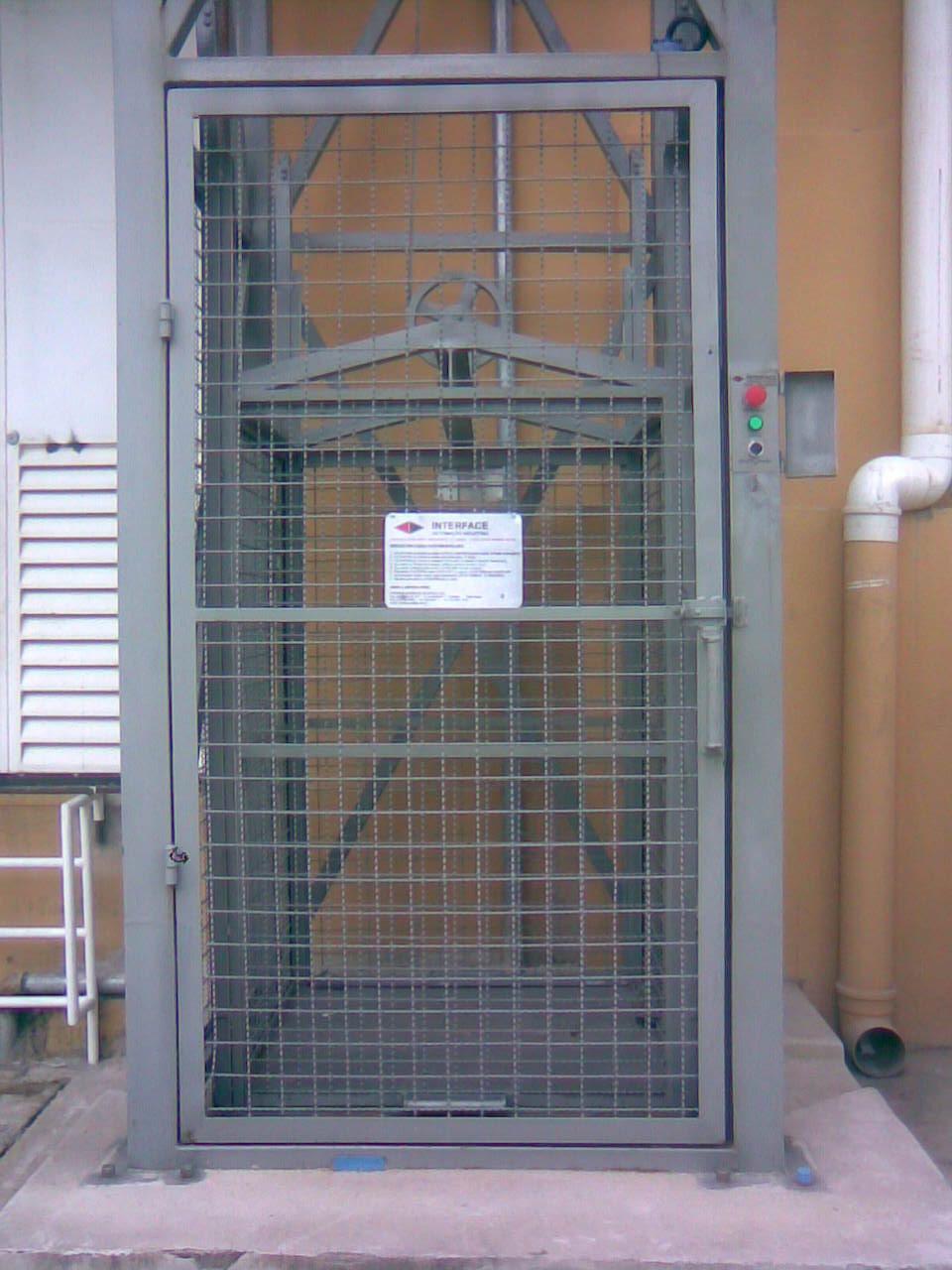 Elevador de carga  Interface Elevadores  Elevadores