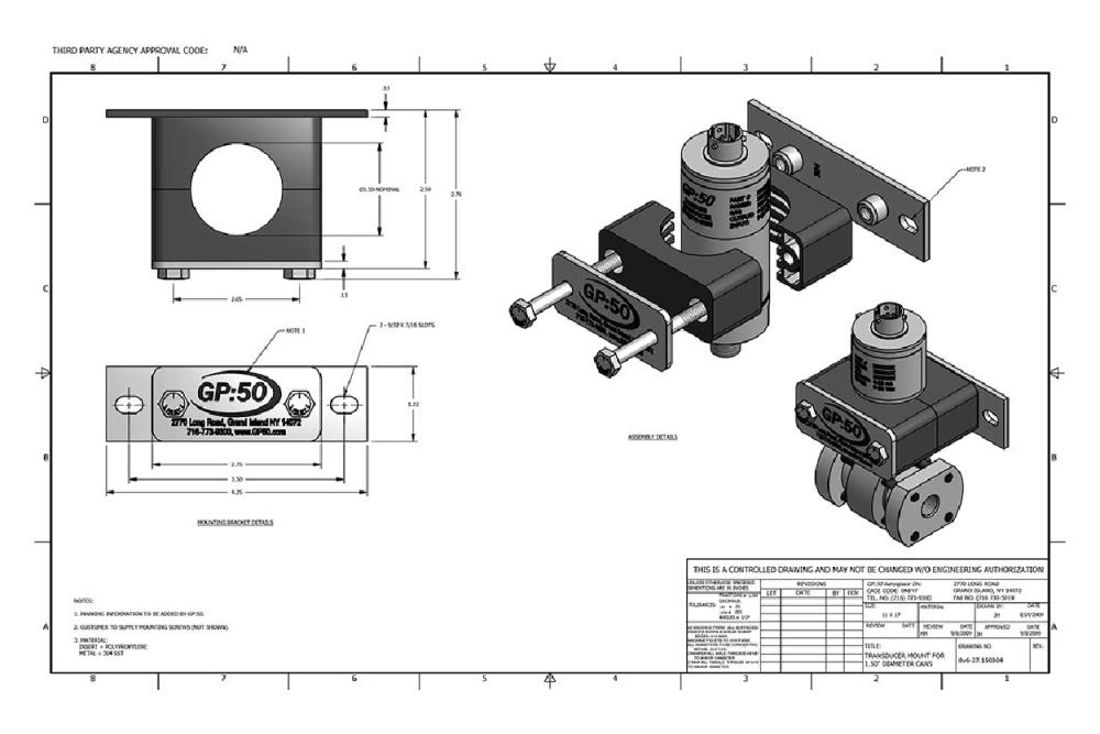 medium resolution of pressure sensor mount