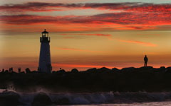 Santa Cruz Lighthouse wallpaper