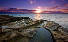 High-resolution desktop wallpaper Just Another Sunset by Chris Gin