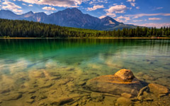 High-resolution desktop wallpaper Turquoise Reflections by TheReal7