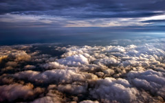 High-resolution desktop wallpaper Above the Clouds by btruxell