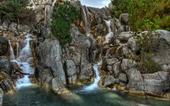 High-resolution desktop wallpaper Waterfall by Jon Nigg