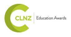 CLNZ education awards logo