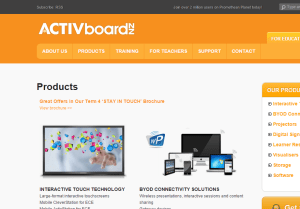 activboard screenshot
