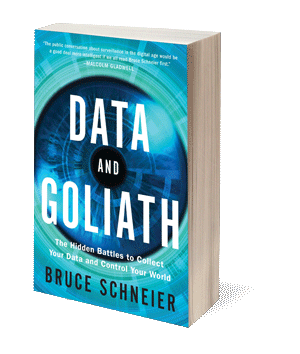 Data and Goliath: The Hidden Battles to Collect your Data