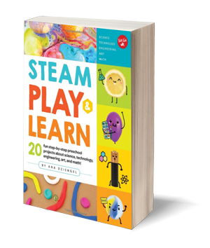 STEAM Play & Learn: 20 fun step-by-step projects