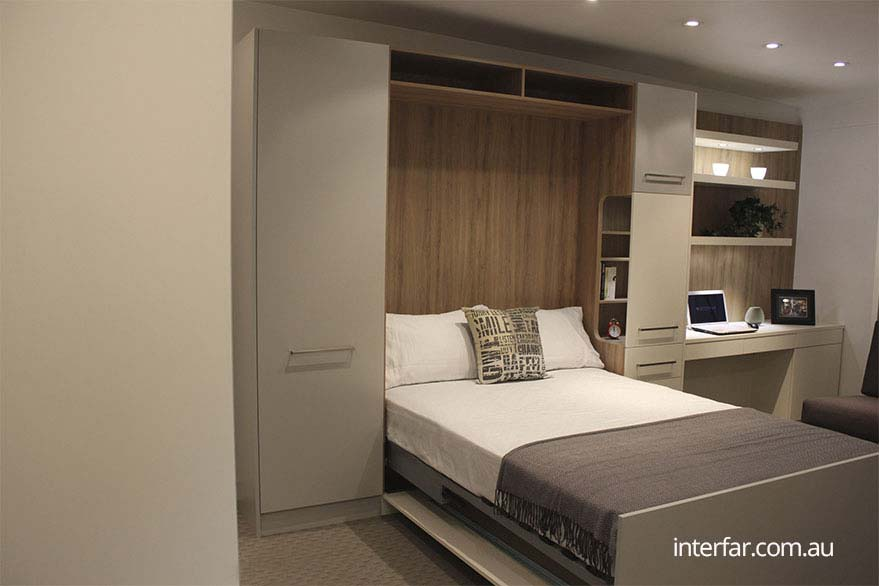Fold Down Wall Beds  Interfar  Residential