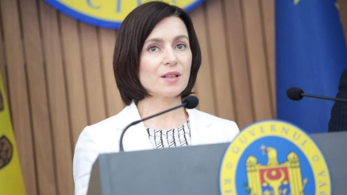 Sandu promises to preside over Moldova's European integration