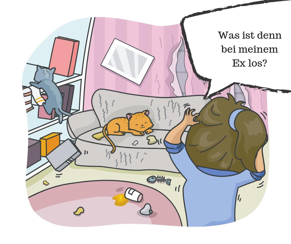 Ex vermissen - unordentliche Wohnung
