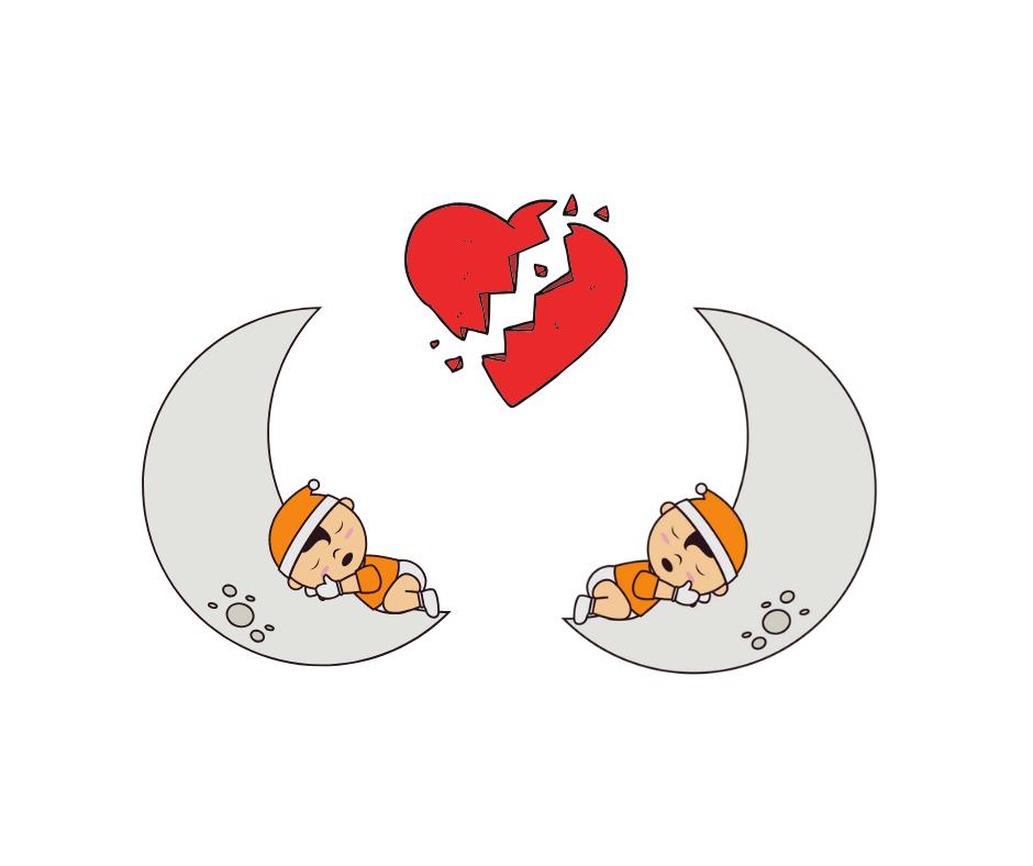 Beziehung am Ende - Schlafpositionen
