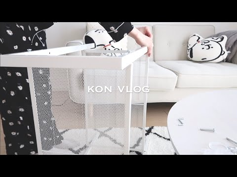 【IKEA】新居vlog/引っ越しました/家具購入/ニトリ/部屋作り shopping for my new apartment & moving in!