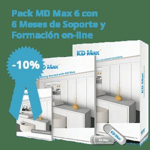 Pack KD Max 6 con 6 meses de soporte técnico y Formación on-line
