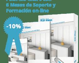 Pack KD Max 6 + Soporte 6 Meses + Formación