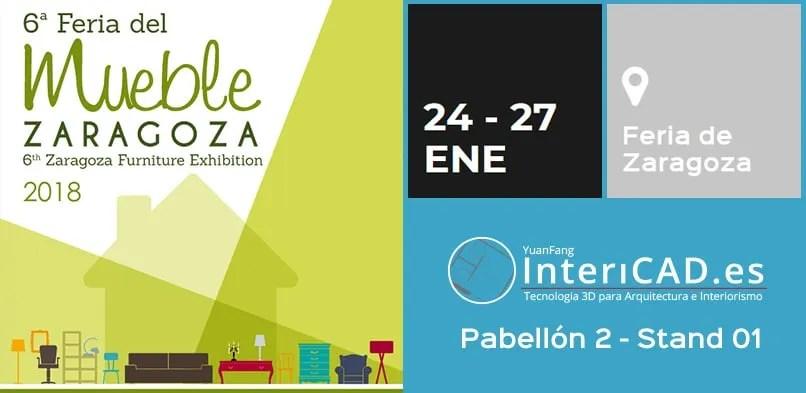 Nos vemos en la Feria del Mueble de Zaragoza 2018