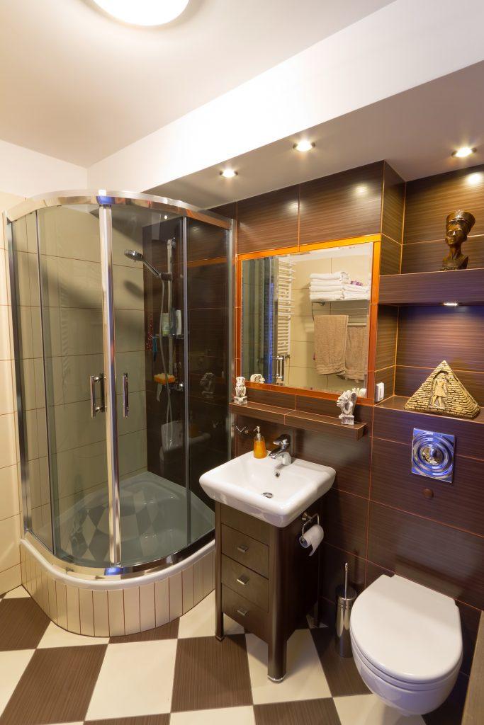 badkamer inrichten douche cabine