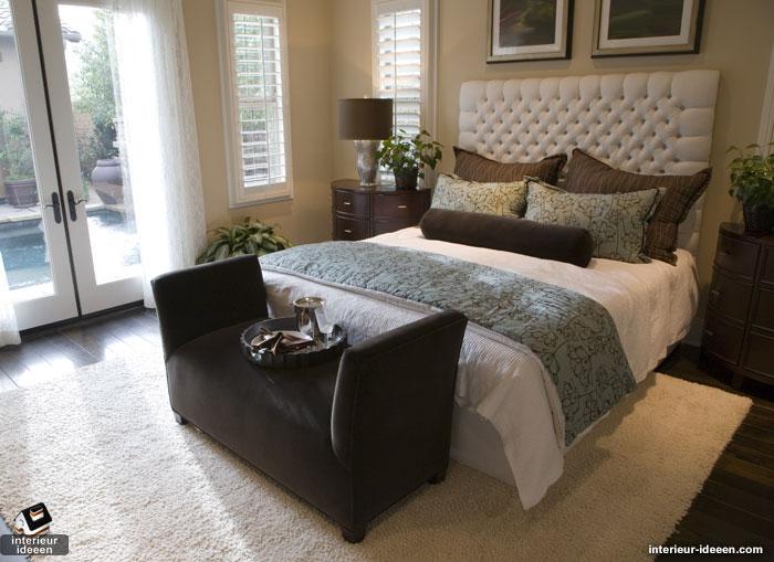 Luxe slaapkamer hoe creer je dat  Interieur ideeen