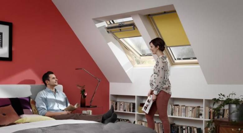 natuurlijk licht in huis slaapkamer velux raam