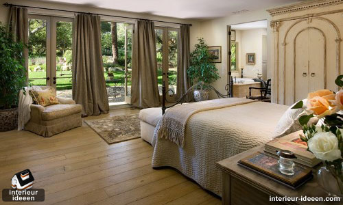 bruin slaapkamer voorbeeld