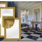 Elegante Spiegel Leonardo Goud