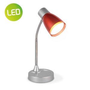 Home sweet home LED bureaulamp Lumy ↕ 28 cm - rood