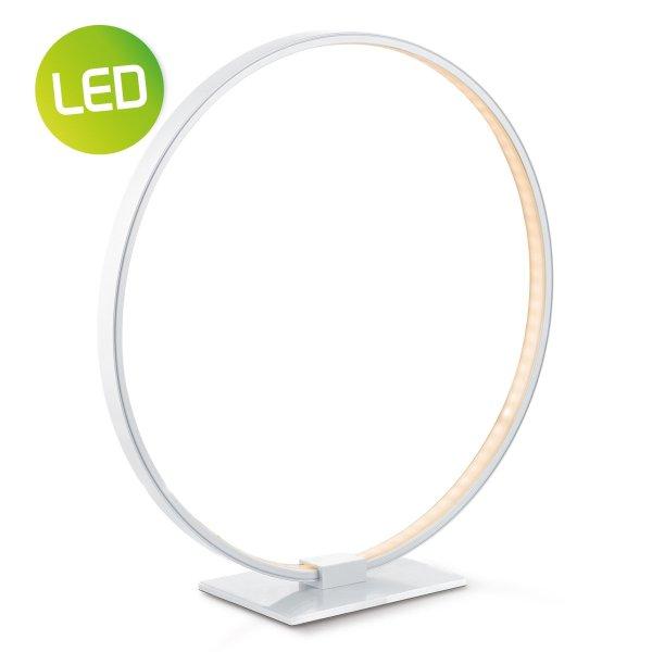 Home sweet home tafellamp LED Eclips ↕ 36 - zilvergrijs