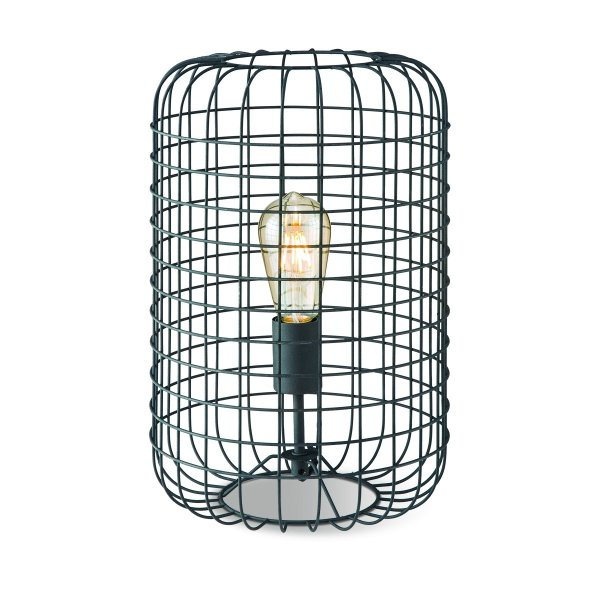 Home sweet home tafellamp Netting 26 - zwart rooster metaal