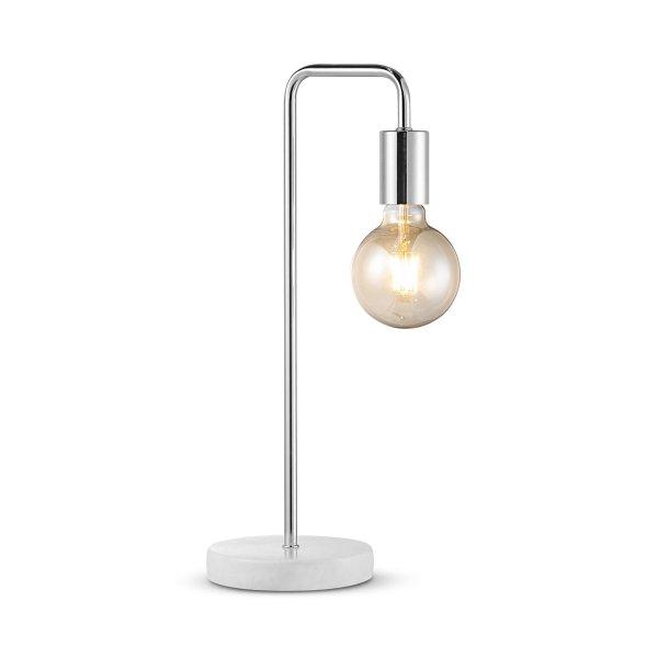 Home sweet home tafellamp Noble Marble - marmer/mat satin