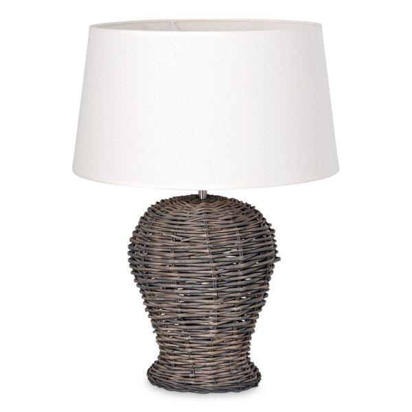 Home sweet home tafellamp Roseau - met lampenkap Melrose - warmwit