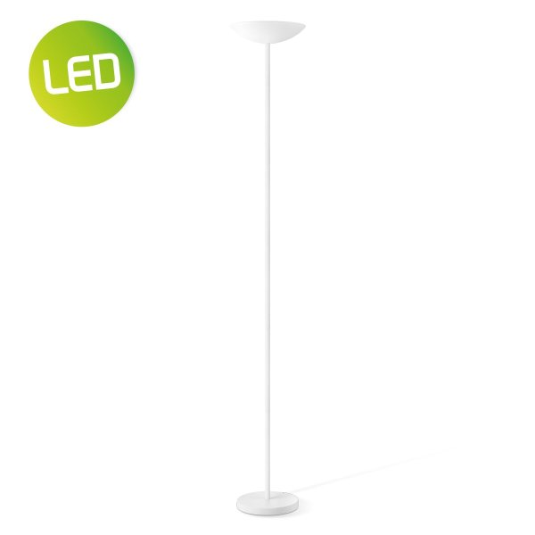 Home sweet home vloerlamp Easy LED uplight - wit
