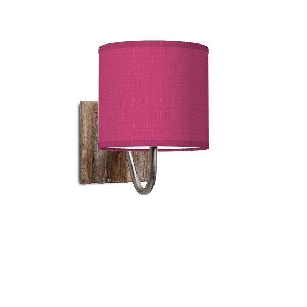 Home sweet home wandlamp drift bling Ø 16 cm - roze