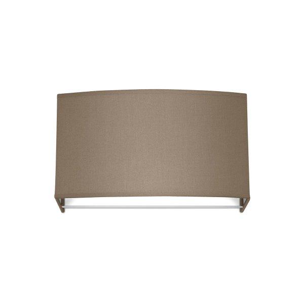 Home sweet home wandlamp funk ↔ 31 cm bruin - taupe