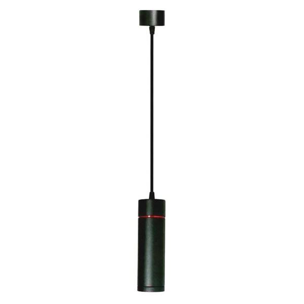 LED Hanglamp - Facto - 20W - Rond - Warm Wit 3000K - Mat Zwart Aluminium