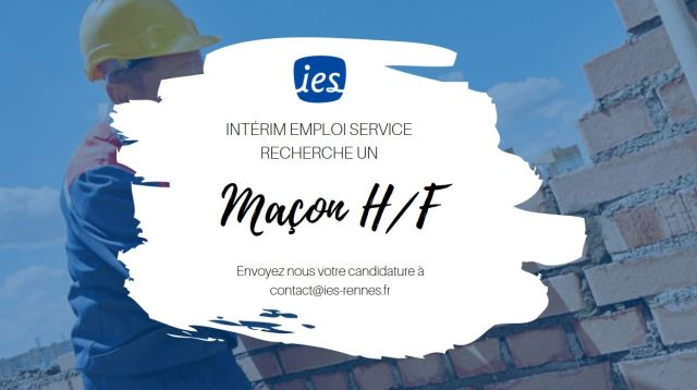 Offre-emploi-maçon-interim-emploi-service-ies