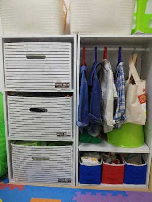 100均のカラーボックス収納アイデア