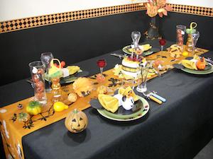 Halloweenの食卓