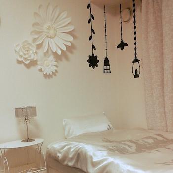 おしゃれな寝室のインテリアのコーディネート画像10