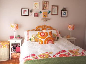 おしゃれな寝室のインテリアのコーディネート画像11