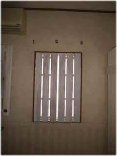 すのこを使った窓のおしゃれな簡単DIYの提案1