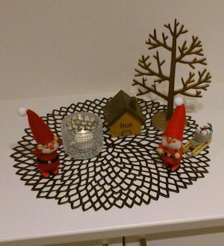 クリスマスのプチインテリアにおすすめの飾り付け画像